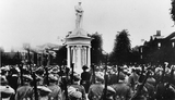 War memorial unveiling ceremony