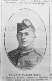 Bell, Private Robert