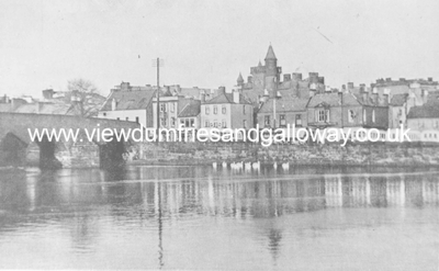View of River Nith and Whitesands, Dumfries
