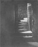 Stairs at Amisfield Tower, interior