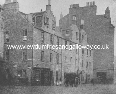 Carlyle's first lodging in Simon Square