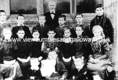 Penpont School children