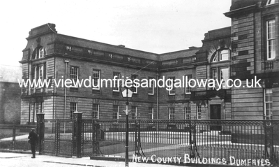 New County Buildings, Dumfries