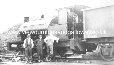 Unidentified railway engine