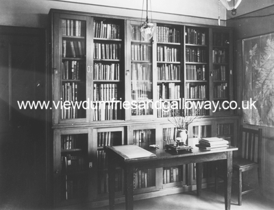 Hornel Library - Broughton House, interior