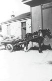 Station horse and cart