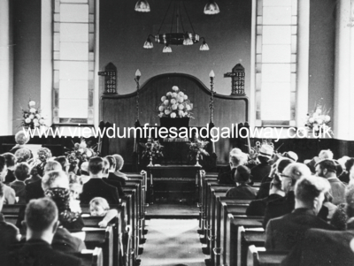 Congregational Church, interior