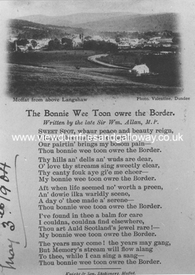 The Bonnie Wee Toon O'er the Border (poem)
