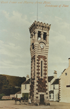Clock tower and Murray Arms Hotel