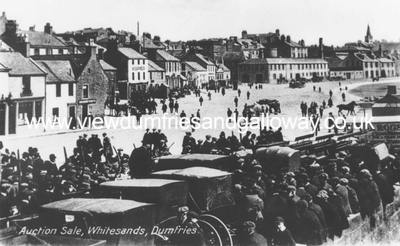 Dumfries auction sale, Whitesands