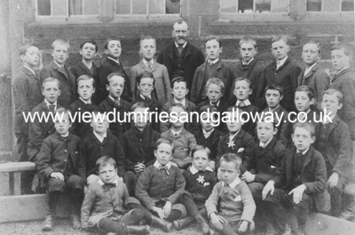 Glasgow Street School - class photograph