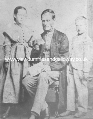 Kirkpatrick McMillan (1812-1878) and children, Mary and John