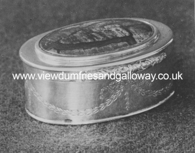 Snuff box belonging to Patrick Millar