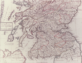 Map of the South part of Scotland