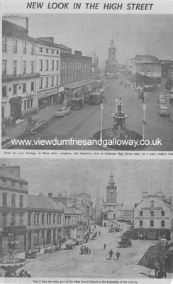 Dumfries High Street